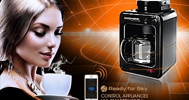 Save yourself some time in the morning with smart coffee maker SkyCoffee  M1505S-E