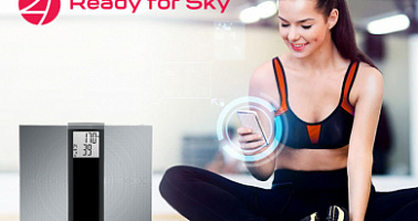 REDMOND SkyBalance 740S-E – smart floor scale and personal fitness trainer